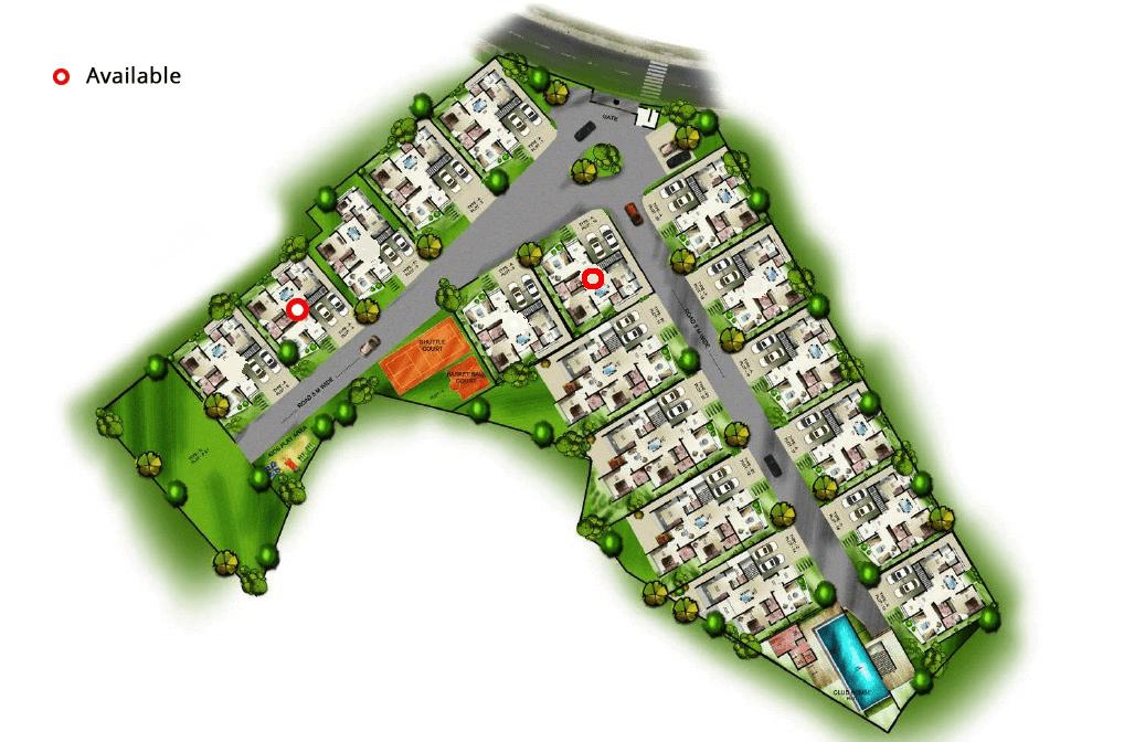 Villa type layout