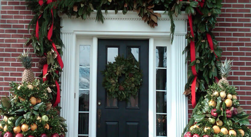 Decorate door